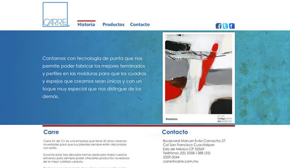 Carre web design